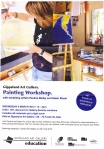 Workshop flyer - Gippsland Gallery Sale, 6th March 2013