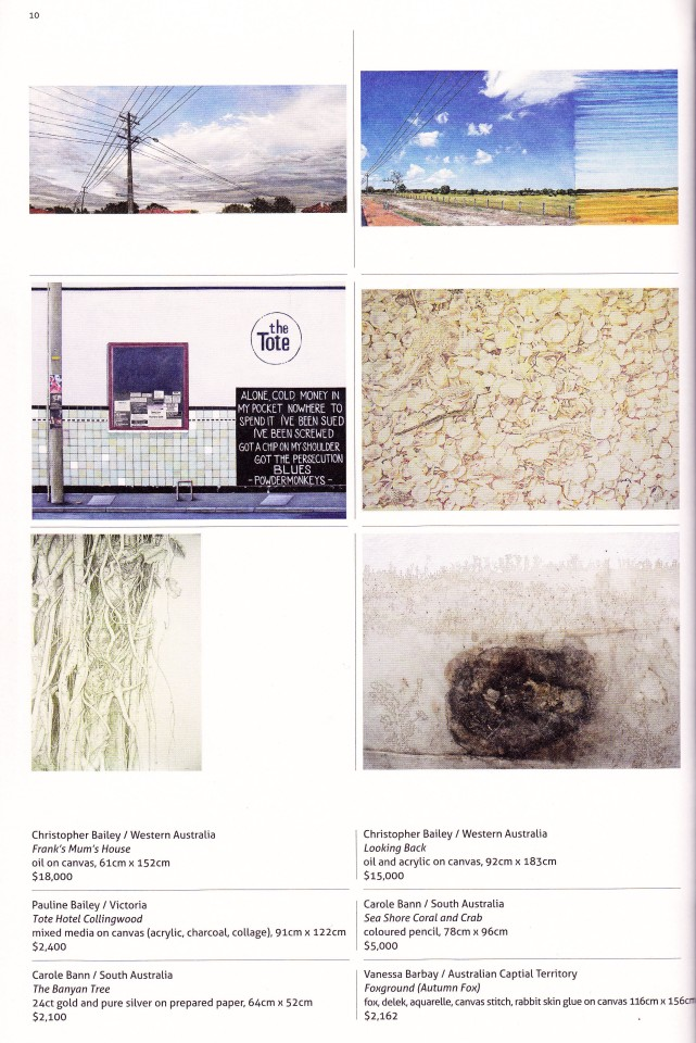 Fleurieu Art Prize 2013 Catalogue