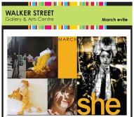 She Exhibition, Walker Street Gallery, Dandenong, 8th - 29th March 2014
