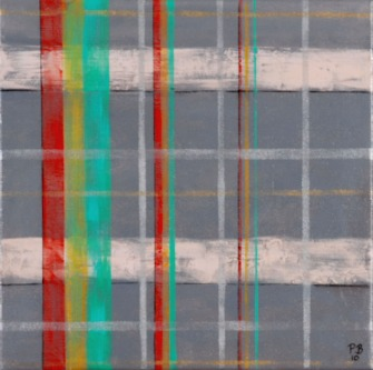 Untitled 9, 30 x 30cm Acrylic on canvas 2010
