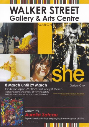 She Exhibition Opening Invitation