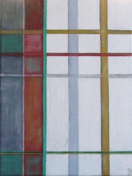 Untitled 8, 30 x 40cm Acrylic on canvas 2010