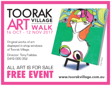 Toorak Art Walk 2017