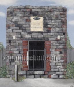 Bank Vault, Walhalla_40 x 50cm_2016_SOLD