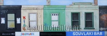 Brunswick St. Strip 1_90 x 30cm_2014