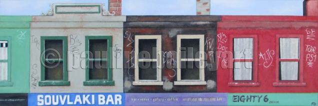 Brunswick St Strip 2_90 x 30cm_2014