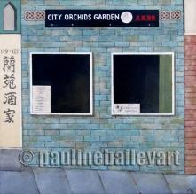 City Orchids, Chinatown_50 x 50cm_2017