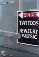 City Peril _60 x 90cm_2010