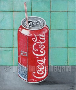 Coke Can With Straw_25 x 30cm_2011