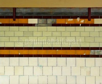 Flinders Street Wall no.1_60 x 50cm_2015