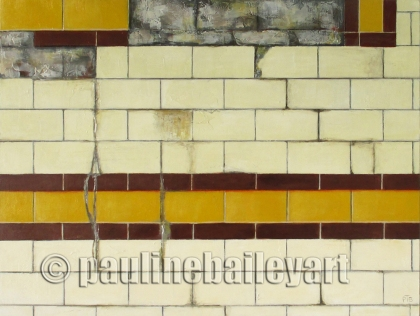 Flinders Street Wall no.2_40 x 30cm_2015