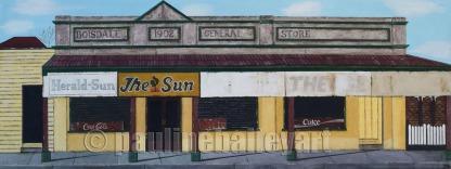 General Store - Boisdale_122 x 46cm_2016