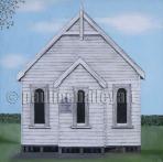 Little White Church_61 x 61cm_2016