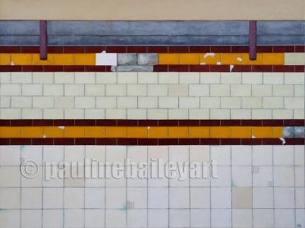 Platform - Flinders St. Station_102 x 76cm_2015