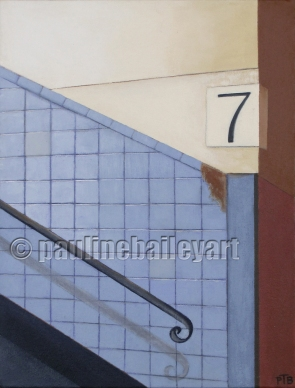 Richmond Station - Platform 7_30 x 40cm_2014