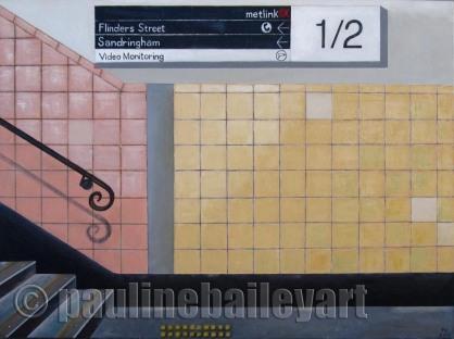 Richmond Station Platforms 1 and 2_80 x 60cm_2013