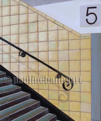 Richmond StationPlatform 5 _51 x 61cm