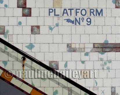 Subway Platform 9 no. 3_2013_75 x 60cm