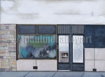 Vacant Building - Rosedale_41 x 31cm_2016