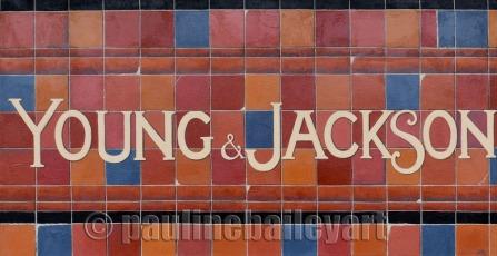 Young & Jackson_100 x 50cm_2016