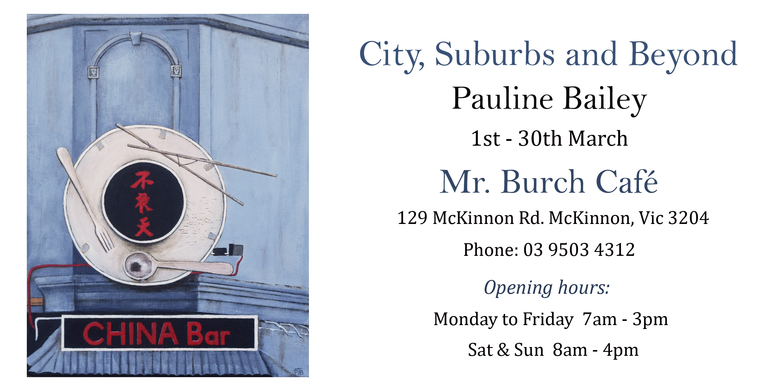 City, Suburbs and Beyond_Pauline Bailey