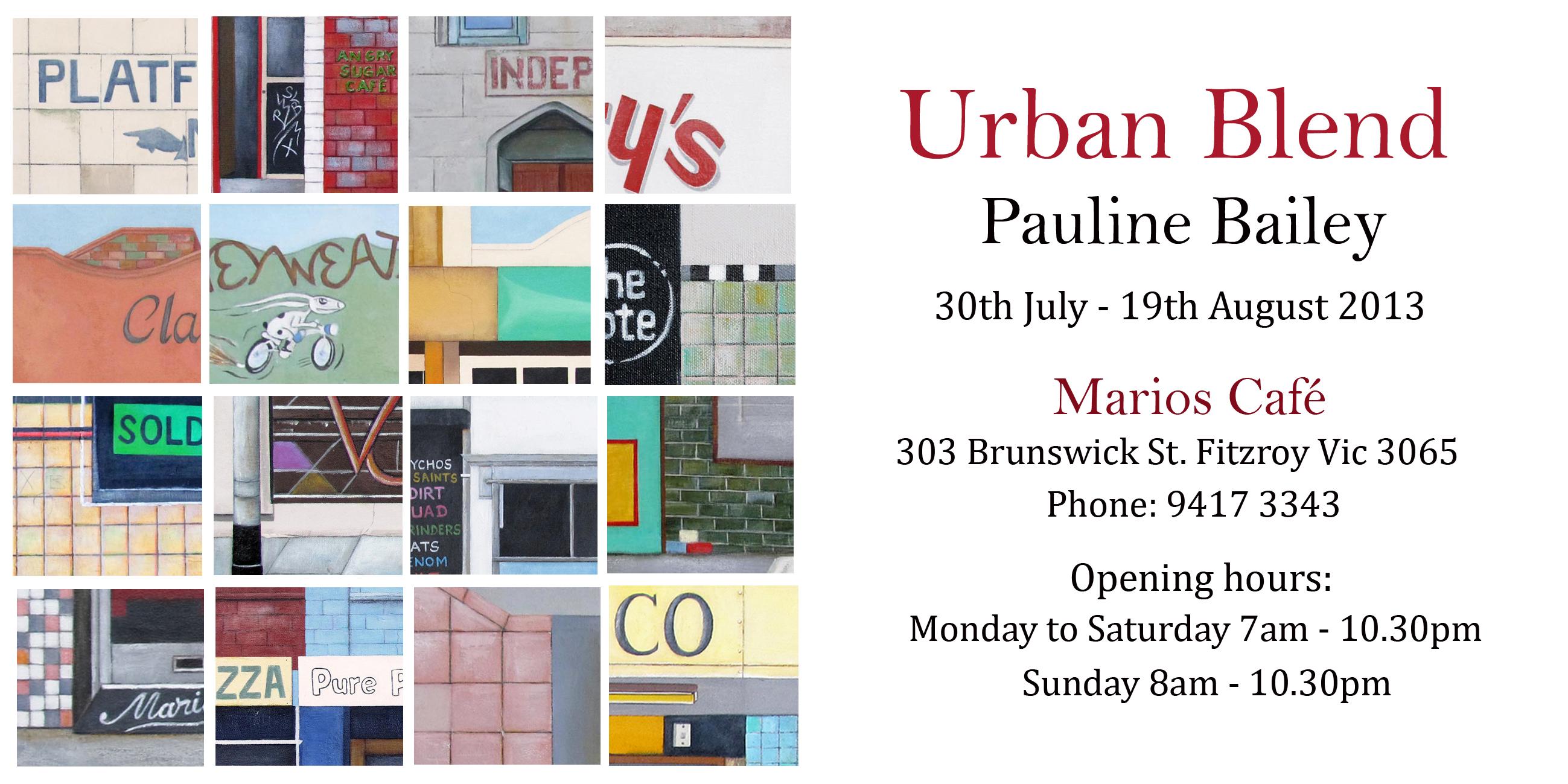 Urban Blend Invitation