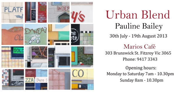 Urban Blend Invitation